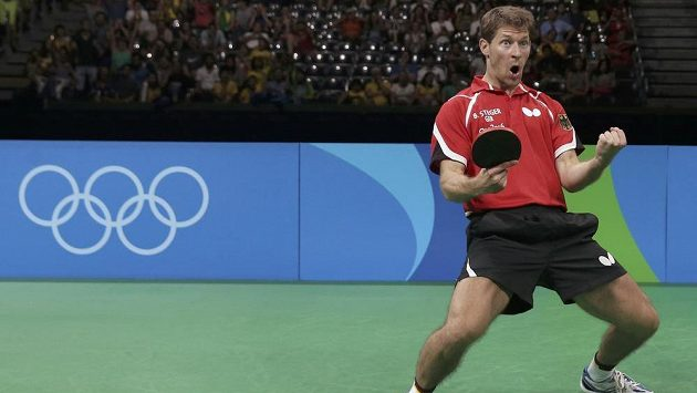 Timo Boll získal po heroickém výkonu s německým týmem bronzovou olympijskou medaili.