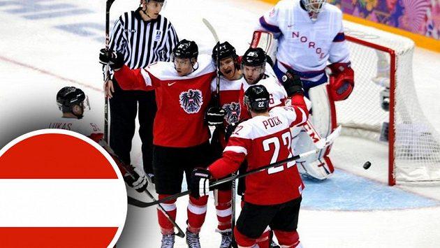 Hokejisté Rakouska pravidelně lavírují mezi hokejovou elitou a B-divizí.