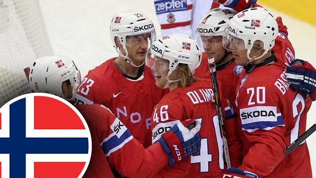 Hokejisté Norska umějí být nepříjemným soupeřem i pro ty nejlepší týmy.