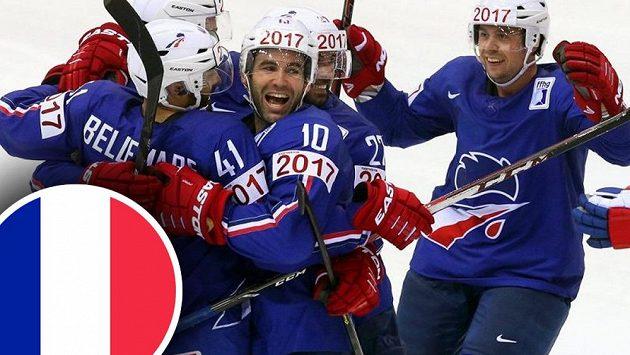 Porážka Kanady a Slovenska, postup do čtvrtfinále. Loni v Minsku Francouzi příjemně šokovali. Jak si povedou hokejisté ze země Galského kohoutra v Praze a Ostravě?