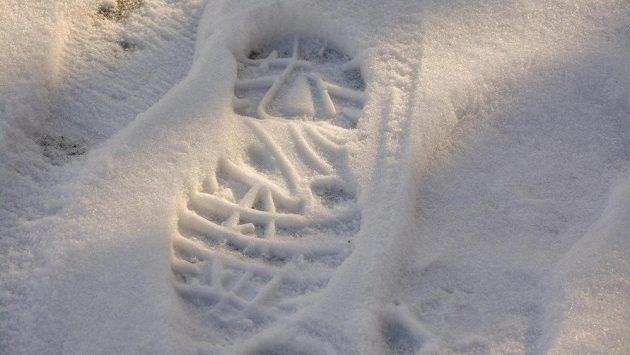 Otisk boty je to jediné, co má Sam Litvin společného s konvenčními běžci. (ilustrační foto)