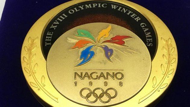 Zlatá medaile z Nagana je v dražbě (ilustrační foto)