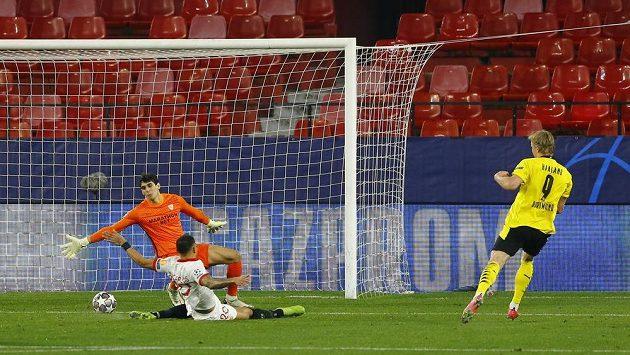 Sestřih osmifinále Ligy mistrů Sevilla - Dortmund