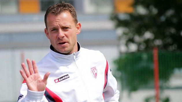 Budoucí trenér fotbalistů Baníku Ostrava Martin Svědík