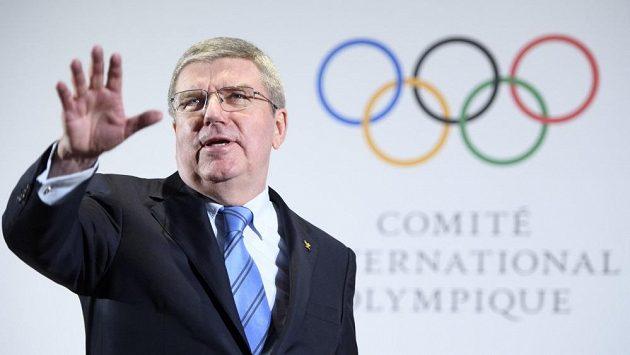 Šéf Mezinárodního olympijského výboru Thomas Bach - ilustrační foto.