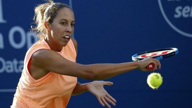 Americká tenistka Madison Keysová na turnaji ve Washingtonu brzy skončila.