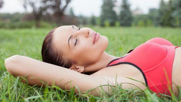 Ze všeho nejsladší je spravedlivý spánek. Po řádném tréninku.