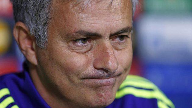 Manažer fotbalistů Chelsea José Mourinho.