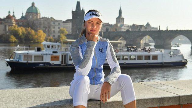 Česká golfistka Klára Spilková.