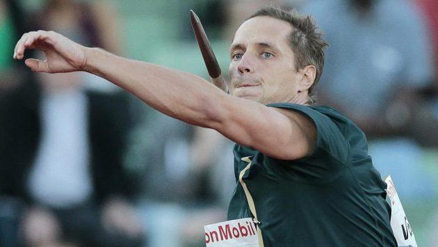 Oštěpař Vítězslav Veselý během závodu Diamantové ligy v Oslu.