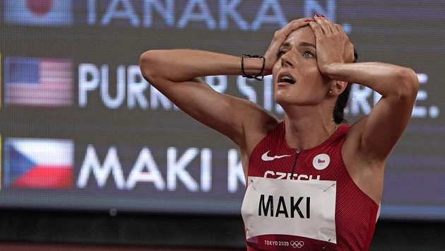 Neskutečný výkon! Kristiina Mäki postoupila národním rekordem do olympijského finále běhu na 1 500 metrů.