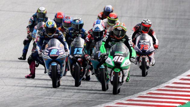 Závod Moto3 ve Štýrském Hradci.