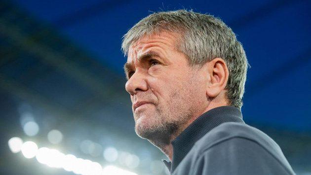 Friedhelm Funkel ještě coby trenér Düsseldorfu.