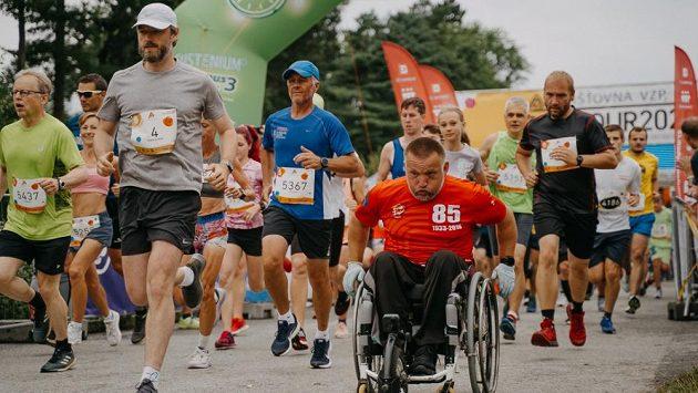 Úspěšný český paralympionik Dušan Ščambura.