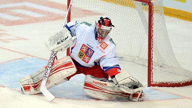 Český brankář Jakub Kovář vychytal druhé čisté konto v sezóně KHL.