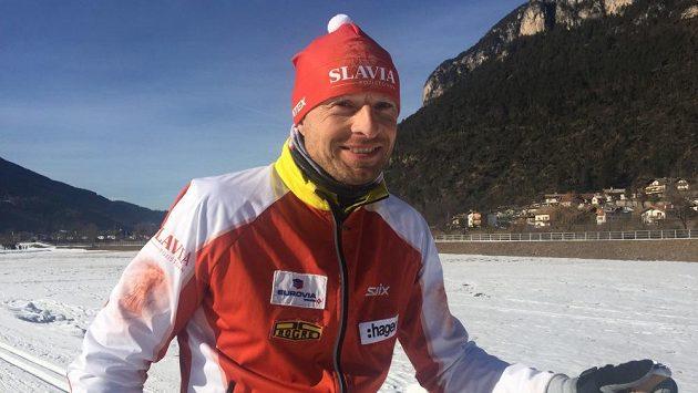 Stanislav Řezáč, jedna z legend Jizerské padesátky.