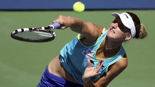 Český tenisový talent Karolína Plíšková.