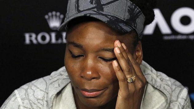Venus Williamsová má problém. Na Floridě měla autonehodu, při níž zemřel jeden člověk.