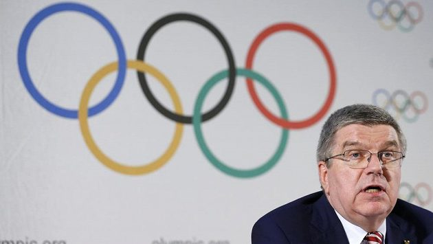 Prezident Mezinárodního olympijského výboru Thomas Bach.