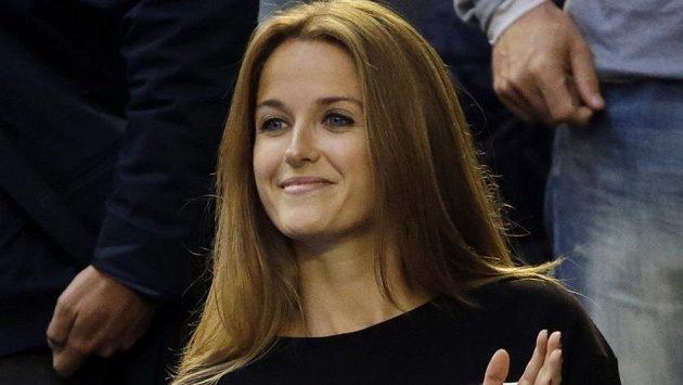 """Andy Murray sice na titul v Melbourne nedosáhl, jeho snoubenka Kim Searsová však poutala pozornost třičkem s nápisem """"Upozornění pro rodiče: Nevhodný obsah."""""""