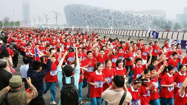 Běžeckých akcí je prý v Číně už příliš mnoho. (ilustrační foto)