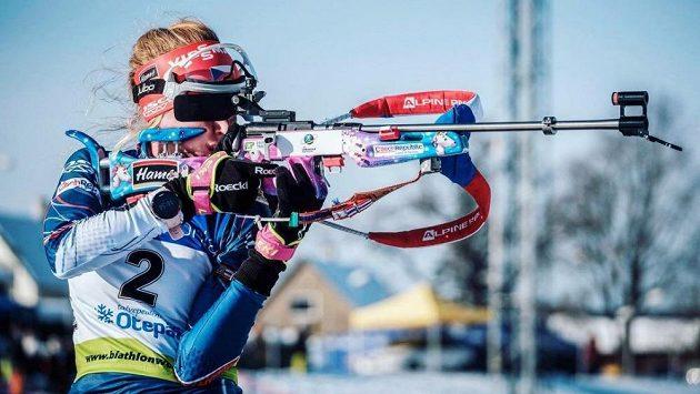 Markéta Davidová hravým designem své pušky oslnila biatlonový svět.