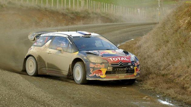 Sébastien Loeb během Rallye Nový Zéland.
