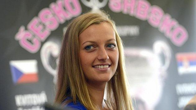 Aktuálně nejlepší česká tenistka Petra Kvitová.