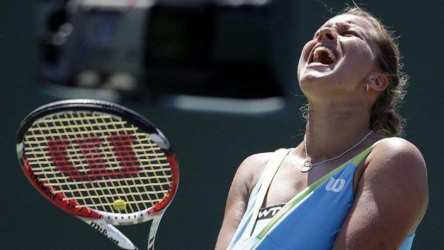 Česká tenistka Barbora Záhlavová Strýcová dostala od Suárezové dva kanáry.