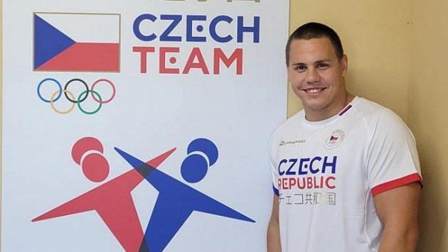 Český dálkový plavec Matěj Kozubek.