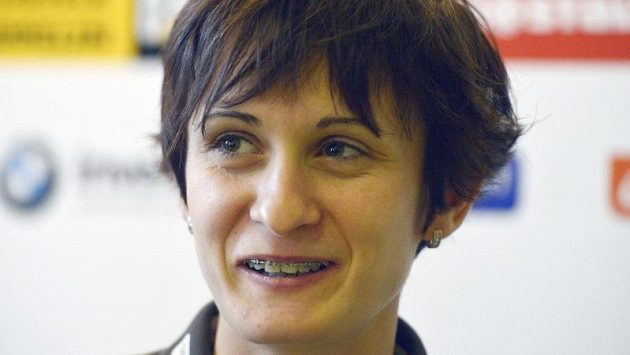 Rychlobruslařka Martina Sáblíková
