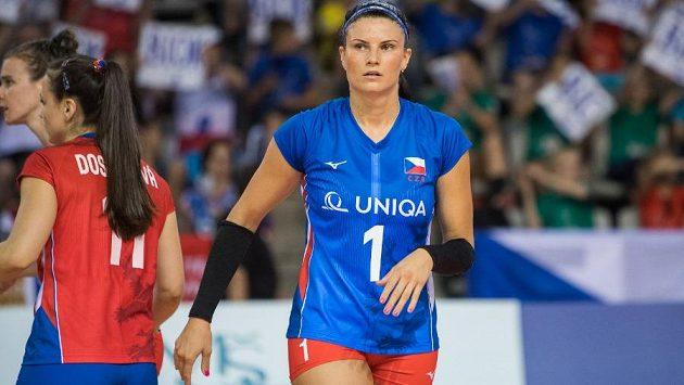 Česká volejbalistka Andrea Kossányiová prožívá báječný rok.
