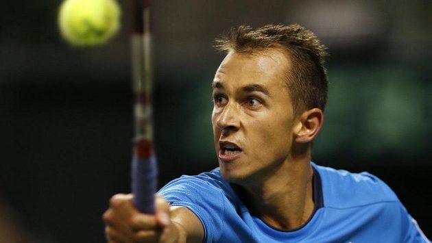 Lukáš Rosol postoupil na turnaji v Monte Carlu do osmifinále.