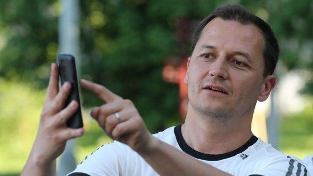 Tváří nové aplikace a Mattoni Free Run je Vojtěch Bernatský.