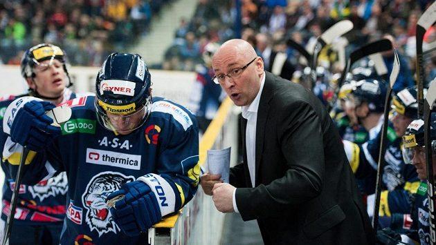 """Liberecký trenér Pavel Hynek v """"duelu pravdy"""" s Mladou Boleslaví."""