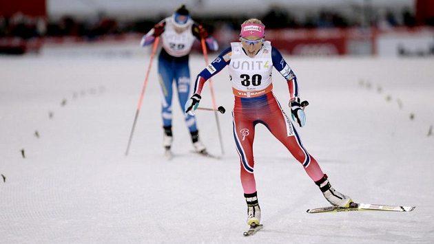 Therese Johaugaugová vyhrála závod v Ruce.