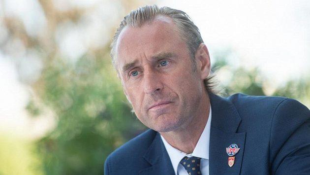Václav Prospal, trenér hokejového klubu Madeta Motor České Budějovice.