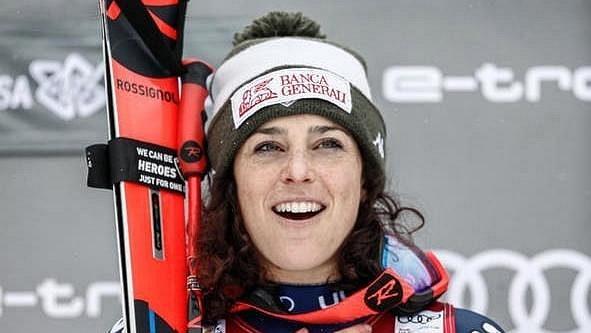 Federica Brignoneová patří k největším hvězdám italského lyžování