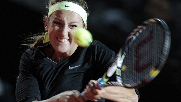 Viktoria Azarenková na turnaji v Římě.