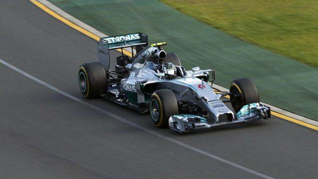 Vítěz úvodní Velké ceny nové sezóny formule 1 Nico Rosberg ze stáje Mercedes.