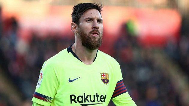 Barcelonský fotbalista Lionel Messi. Představí se v rámci La Ligy v Americe nebo Asii?