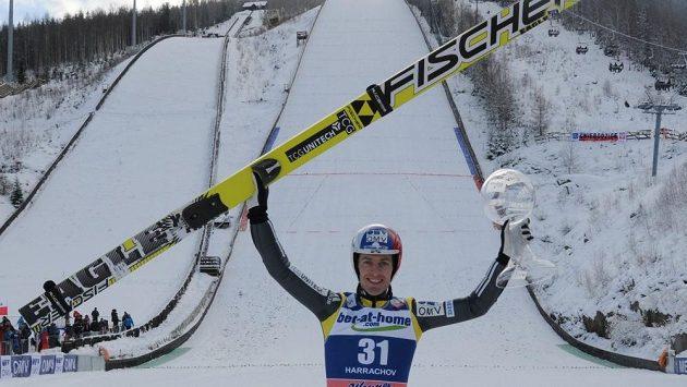 Nejúspěšnější český skokan minulé sezóny Jan Matura.