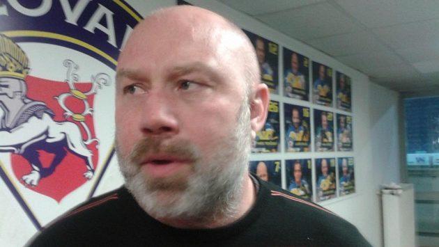 Trenér Miroslav Mach u hokejistů Ústí skončil.