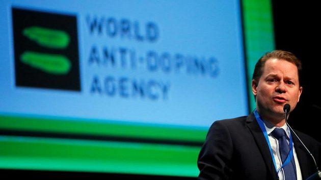 Generální ředitel WADA Olivier Niggli. Ilustrační snímek.