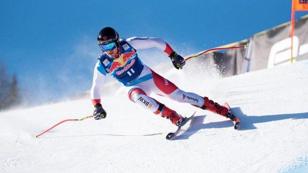 Švýcarský sjezdař Mauro Caviezel.