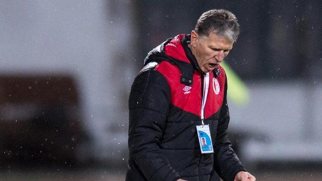 Radost trenéra Jaroslava Šilhavého.