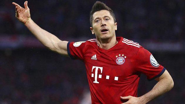 Kanonýr Bayernu Robert Lewandowski by chtěl samozřejmě prožívat podobnou radost i ve šlágru s Dortmundem.