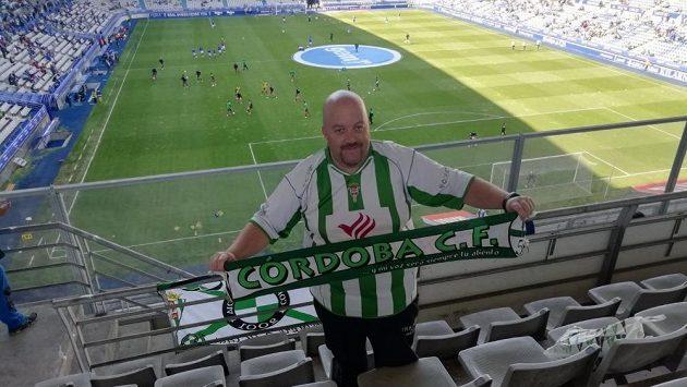 Fanoušek klubu Córdoba CF Javi Jiménez cestoval za svým týmem 1600 kilometrů.