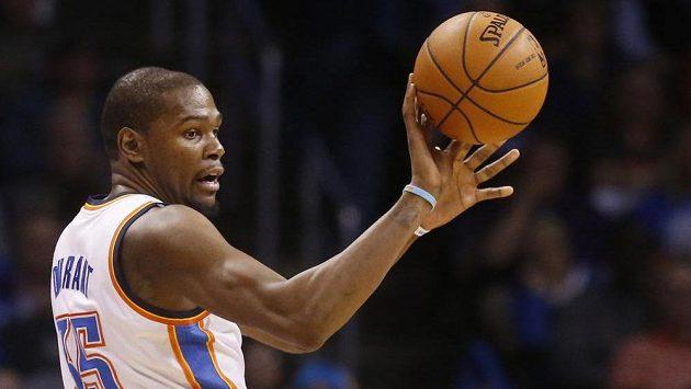 Basketbalista Oklahomy Kevin Durant