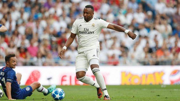 Kolumbijský útočník Edwin Congo se v dresu Realu Madrid naposledy představil v roce 2019 během charitativního utkání bývalých hvězd španělského fotbalu.